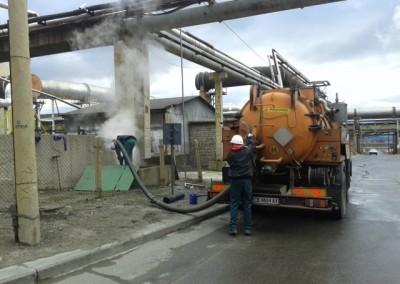 почистване на шахти от стар мазут