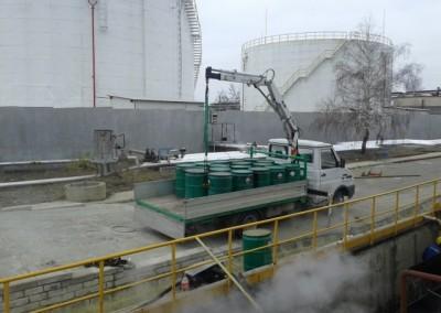 събиране на опасни отпадъци от нефтопродукти